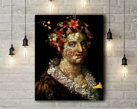Arcimboldo: Flora. Fine Art Canvas.